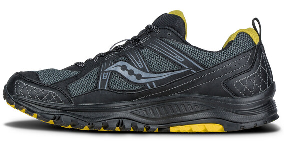 saucony Excursion TR 10 GTX Running Shoes Men Black/Yellow